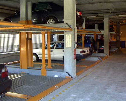 Efficiency of Automated Parking Systems